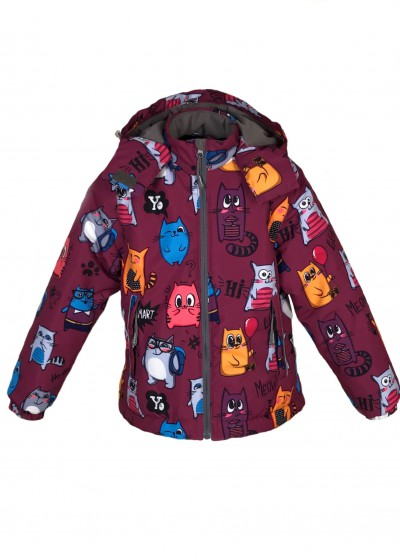 Куртка Котята