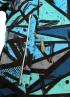 Куртка Граффити синий