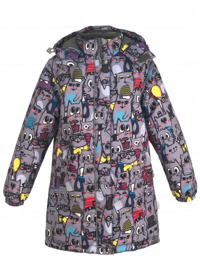 Пальто Серые кошки