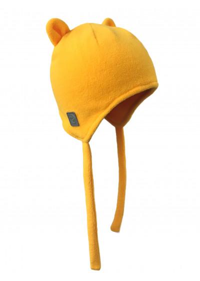 Шапочка-бини желтая