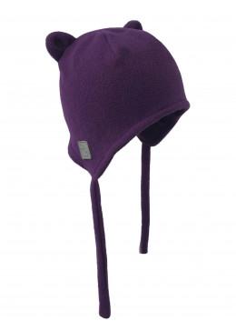 Шапочка-бини фиолет